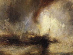 JMW Turner, Snowstorm, Steam-Boat off a Harbour's Mouth, 1842 (Tate Britain, London)